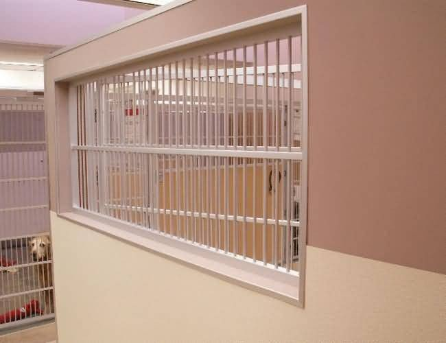 Helen Woodward Animal Center - Window for Animal Viewing and Ventilation