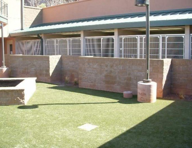 Humane Sociey of Sedona - Kennels and Outside Area
